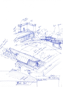 Maison Sensue-L / croquis generateur