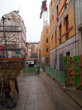 Construction Mixte Bois/Beton 1-11 rue Caillé @VongDC