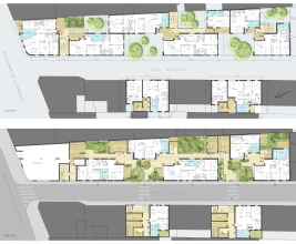 Plans Rez-de-chaussée / R+1