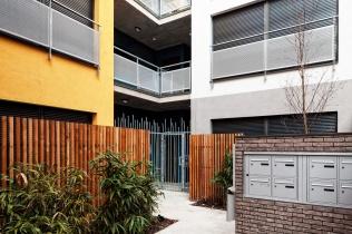 Courtyard entry - Jardin 2 - Photo N.Borel