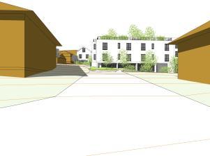 ser-es1-a-scenario1b - 3d view - vue 2 rue des lilas bas