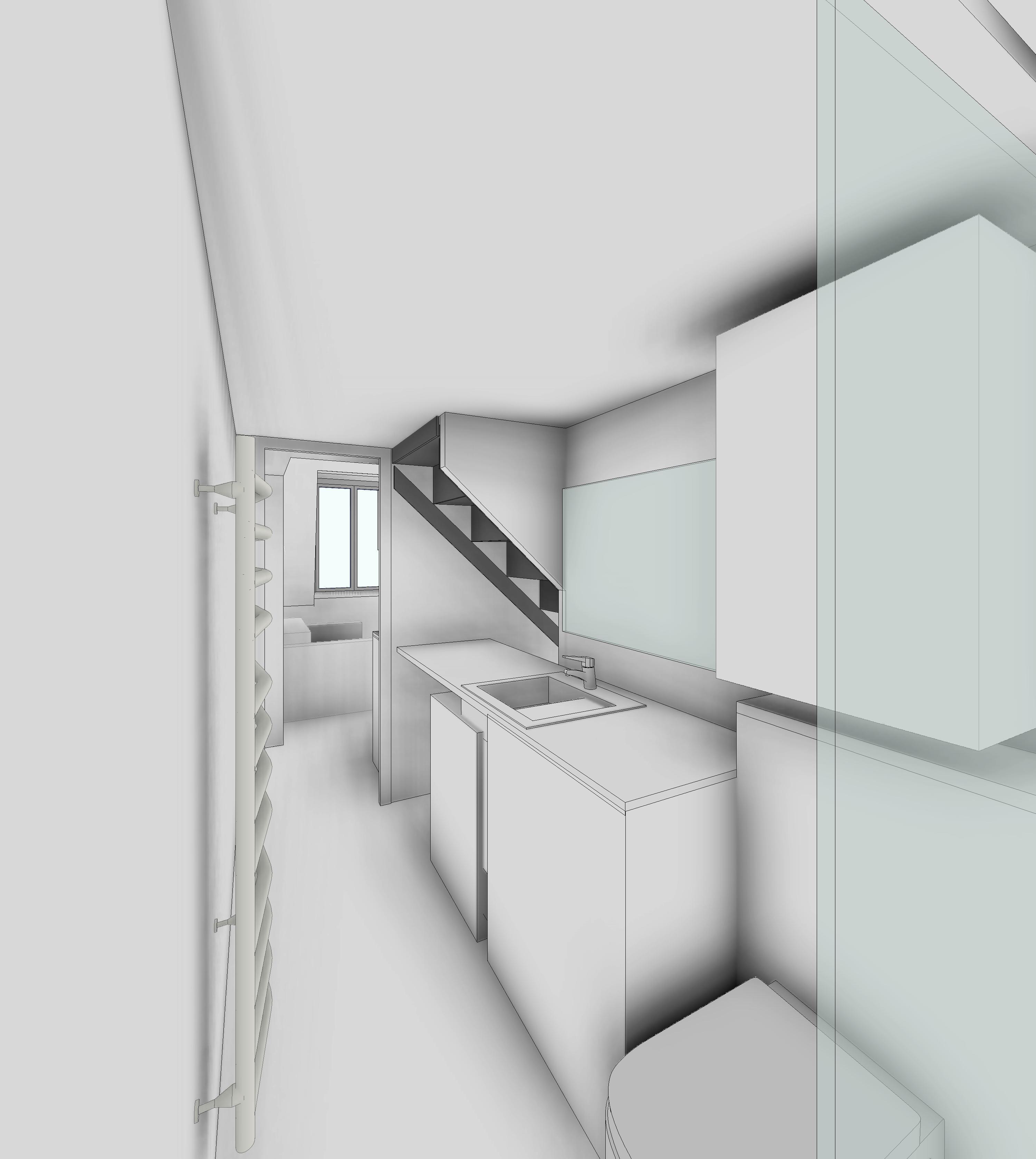 SDE vers Séjour/escalier